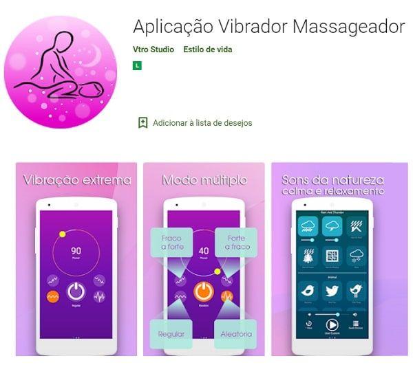 Vibrador Massageador