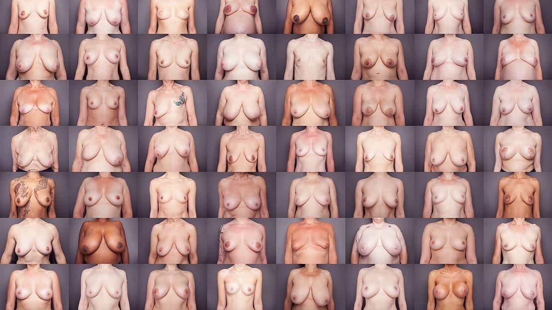 Tamanho dos peitos femininos ideais na visão masculina