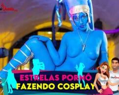 Estrelas pornô fazendo cosplay