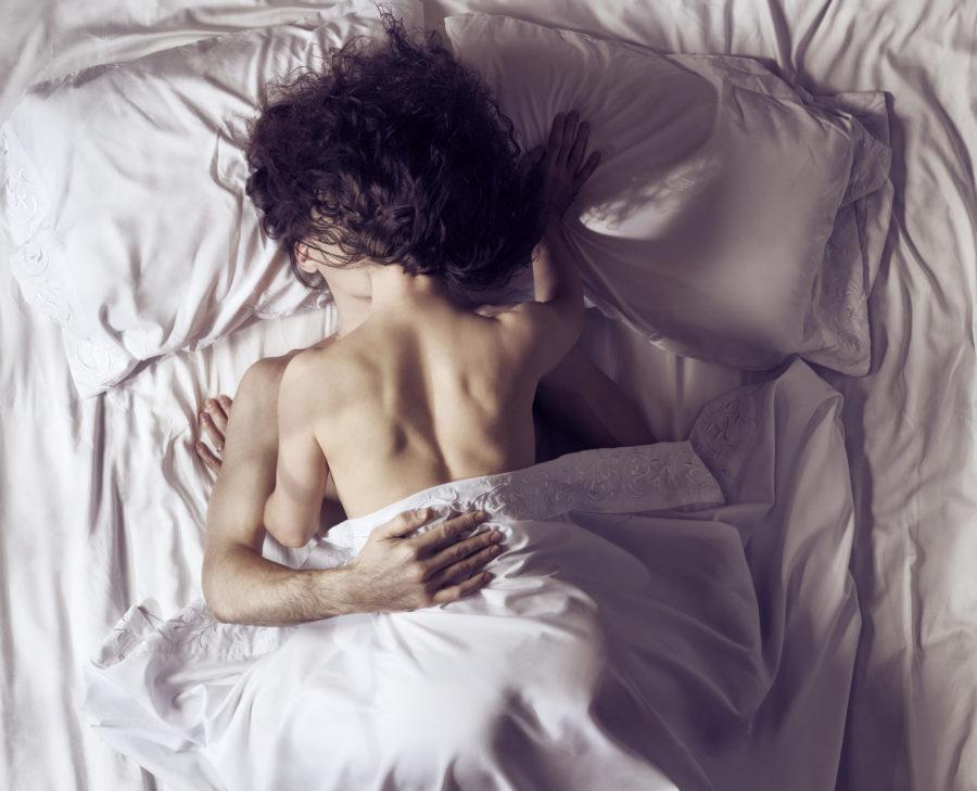 posições diferentes na cama